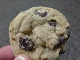 22.) I love chocolate chip cookies. I eat them EVERY DAY. My wife makes the best!