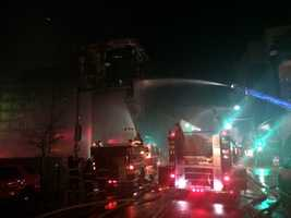 Fire-suppression systems had not yet been installed in the building, making the battle more difficult, Talmadge said.