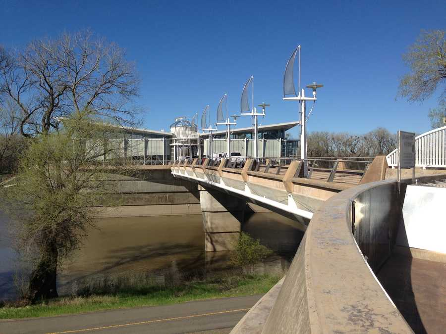 City officials say the Sacramento River pumping station was never designed to operate at river levels expected this summer.