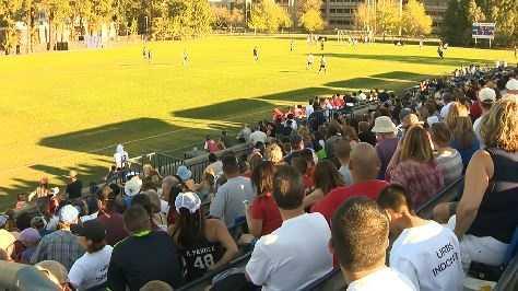Sacramento Republic vs. UC Davis men's team