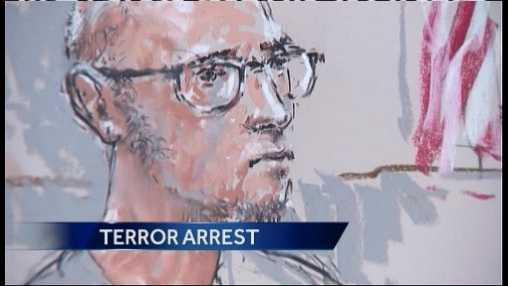 Acampo terror arrest