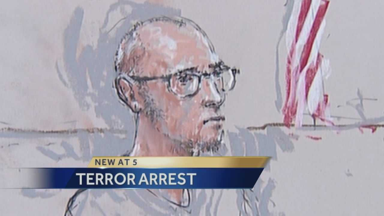 Terrorism charges against San Joaquin County man