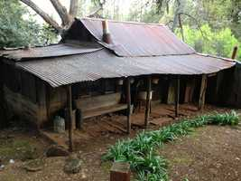 This home is one of many historic structures, some dating back to the Gold Rush.