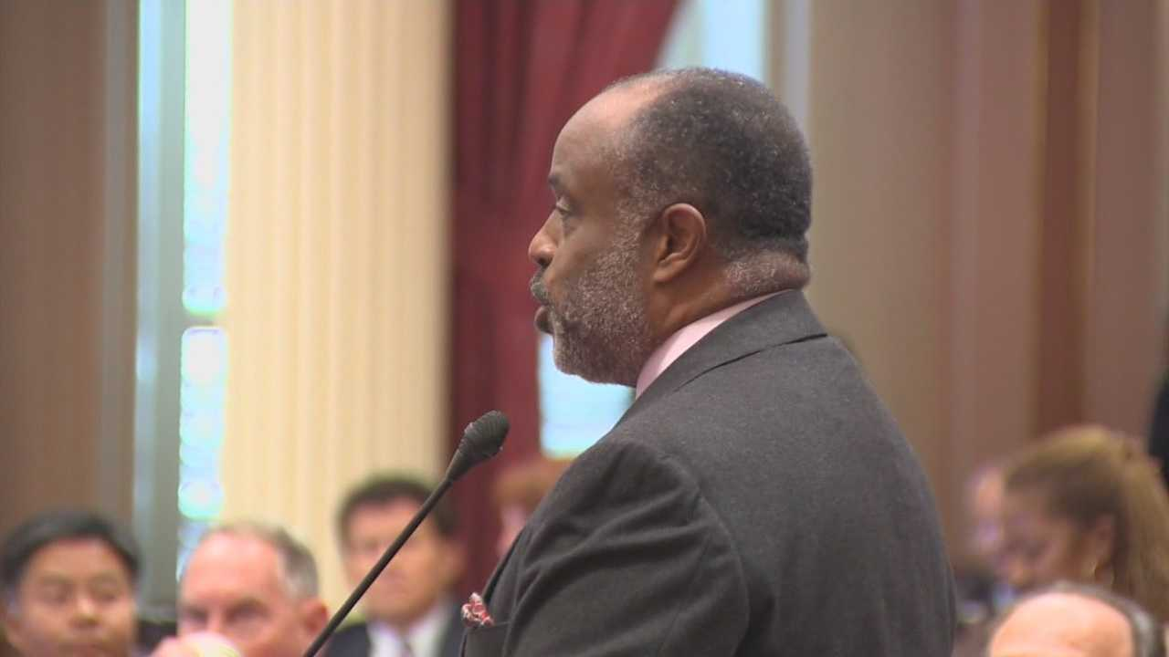 Sen. Roderick Wright, a Democrat, convicted of perjury and voter fraud is taking an indefinite leave of absence as he awaits sentencing this spring. He represented a Los Angeles-area district. Read more.