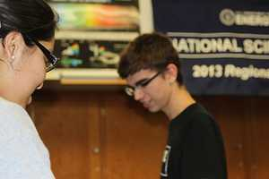 Seniors Preethi Raju and Matt Kempster both specialize in biology.