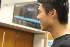 Junior Science Bowl captain Daniel Shen specializes in chemistry.
