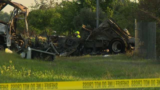 California bus-truck crash