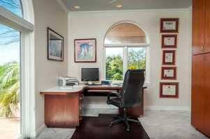 This home has this office setup.