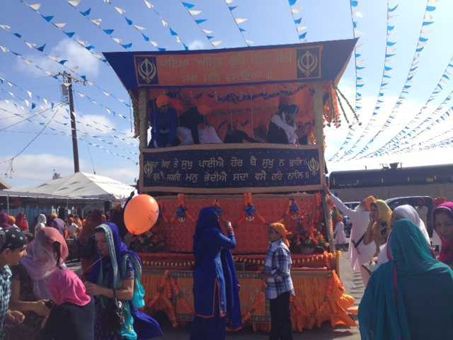 Crowds lined the streets for the 16th annual Stockton Sikh Parade on Sunday.