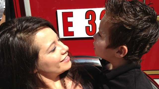 Crystal and Mason Johnson (April 15, 2014)