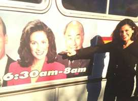 2.) I was on some buses in Sonoma County. I never had a mustache drawn on me -- that I know of.