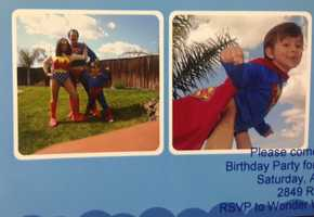 24.) My favorite character is Wonder Woman. Of course, I had a superhero party for Thomas when he turned 4. He is now 7.