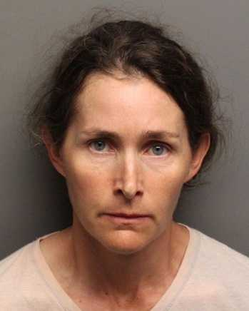 Tanya Meeth, 45, was arrested on an attempted cruelty to animals charge after a reported disagreement with a neighbor over a barking dog, authorities said. Auburn police said Meeth left a dangerous item baited with food on the neighbor's property, with the potential of causing serious injury or death to the dog.