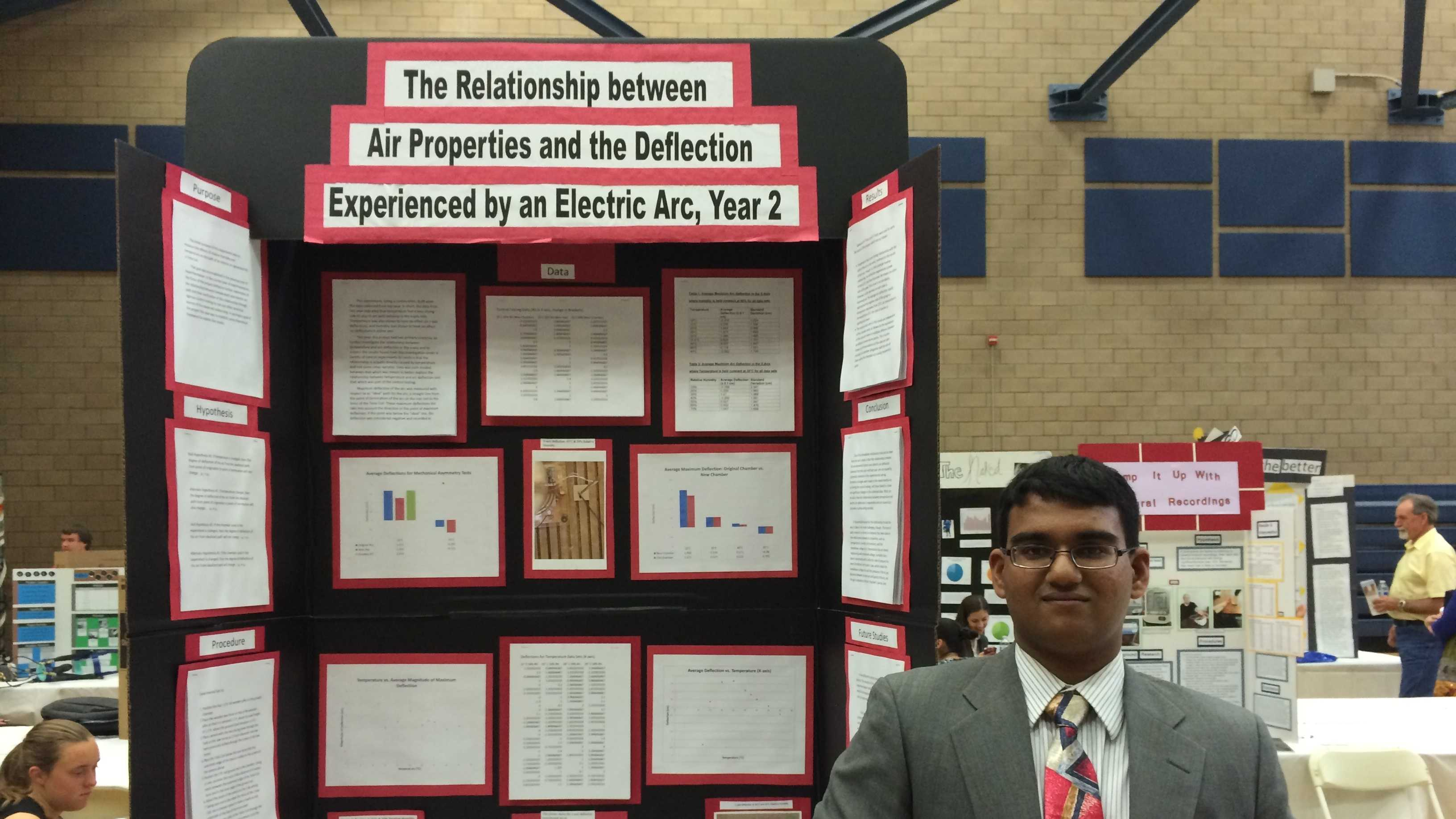 Isfar Munir won the Sacramento Regional Science and Engineering Fair's Grand Prize Award.