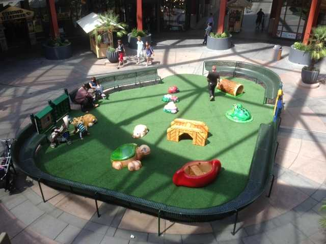 The kids play area was sold, but will reappear somewhere else in Sacramento.