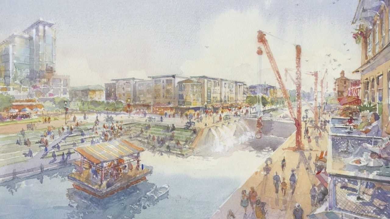 West Sacramento is working on a new development that would bring new businesses and an entertainment center to riverfront.