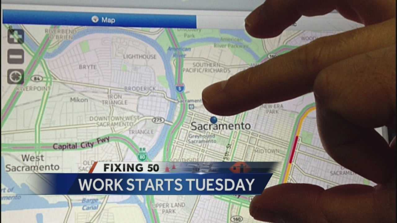 KCRA 's mobile app is your source for current speeds, alternative routes, maps and updates on Fix 50.