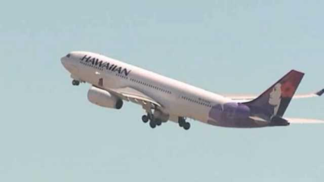 Hawaiian Airlines stowaway