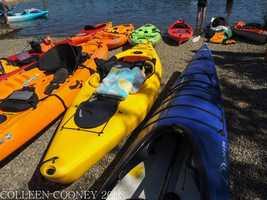8. Kayak along the American River -- Rent a kayak or canoe at Negro Bar in Folsom along the American River or at the CSUS Aquatic Center at Lake Natomas.