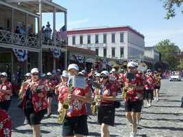 7. Listen to great groups at the Sacramento Music Festival-- Featuring a variety of artists during Memorial Day weekend, this festival (formerly the Sacramento Jazz Festival) always brings out big crowds to Old Sacramento.