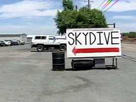 15. Skydive over Northern California -- Take advantage of the beautiful Northern California weather and fly through the air for a breathtaking view over Lodi or Davis.