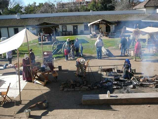 10. Go back in time at Sutter's Fort State Historic Park -- The historic park, located on L Street in Sacramento, is open from 10 a.m. to 5 p.m. daily and gives visitors a glimpse of what it was like during the Gold Rush Era.