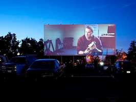 4. Go to a drive-in movie -- Sacramento's West Wind on Oates Drive uses all digital production for its showings that begin once the sun goes down.