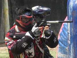17. Grab some friends for a paintball battle -- Sacramento, Davis, Elk Grove and Squaw Valley all have paintball centers where friends can take aim at each other and engage in some adrenaline-pumping action.