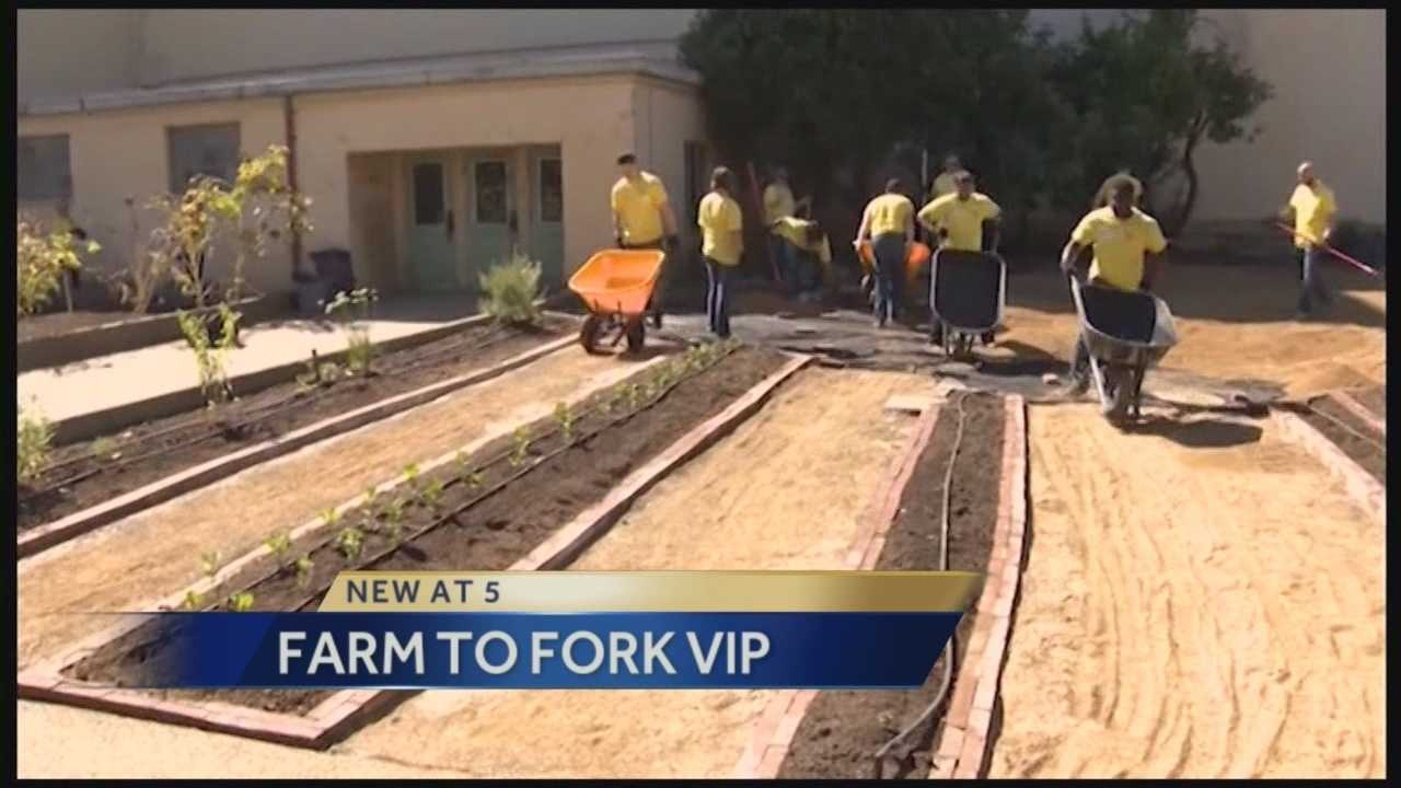A White House nutrition adviser who spoke in Sacramento Wednesday is impressed with the cities  'Farm to Fork' movement.