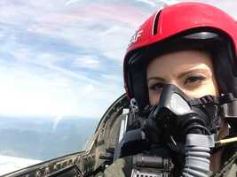 KCRA's Mallory Hoff got a bird's eye view over Solano County with the U.S. Air Force Thunderbirds.
