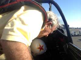 KCRA's Brian Hickey took a flight with veteran stunt pilot EddieAndreini at Mather Airport in 2012.