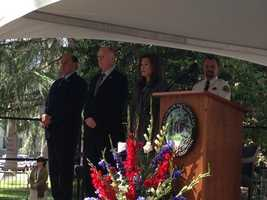 On Monday, Gov. Jerry Brown and other state leaders remember the lives of men and women who have died in the line of duty.