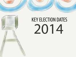 Take a look at some key election dates to remember ahead of the June primary.