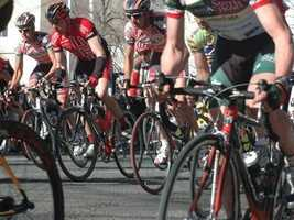During Stage 6, riders will travel from Santa Clarita to Mountain High on Friday.