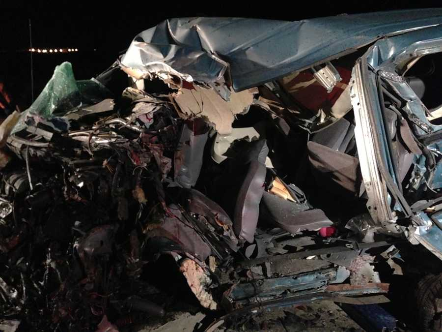 The crash closed several lanes near Lodi at the Peltier Road exit on both the south and northbound sides.