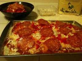 D: Pizza