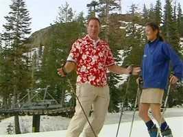 D: Ski team