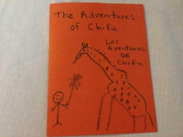 C: Author of a bilingual children's book