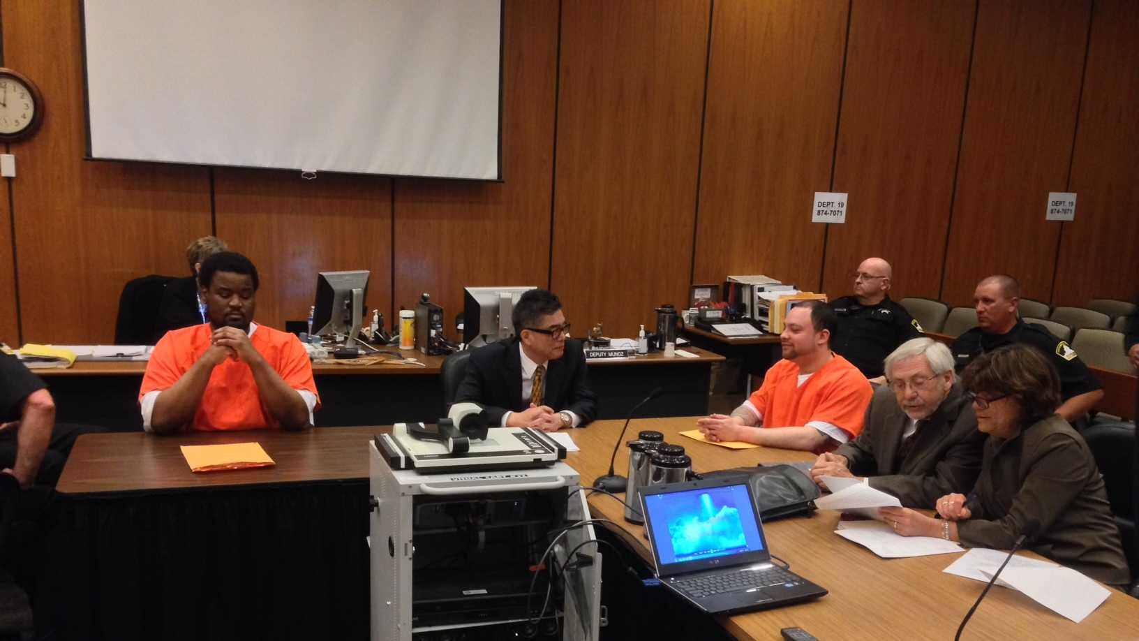 Friday's sentencing (May 9, 2014)