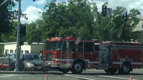 Davis fire truck crash