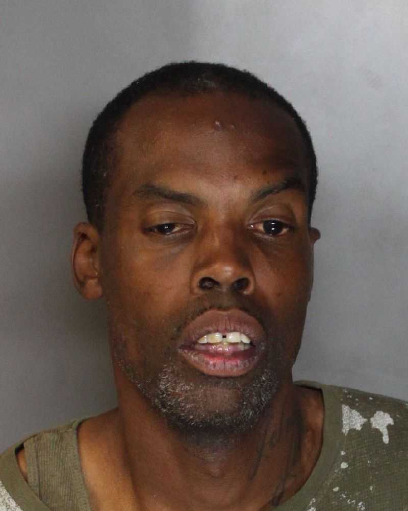Dimarceeo Johnson, 36, was arrested on charges of burglary and conspiracy at a Stocktonstore, police said.
