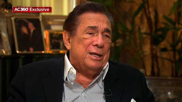 Donald Sterling interviewed by Anderson Cooper