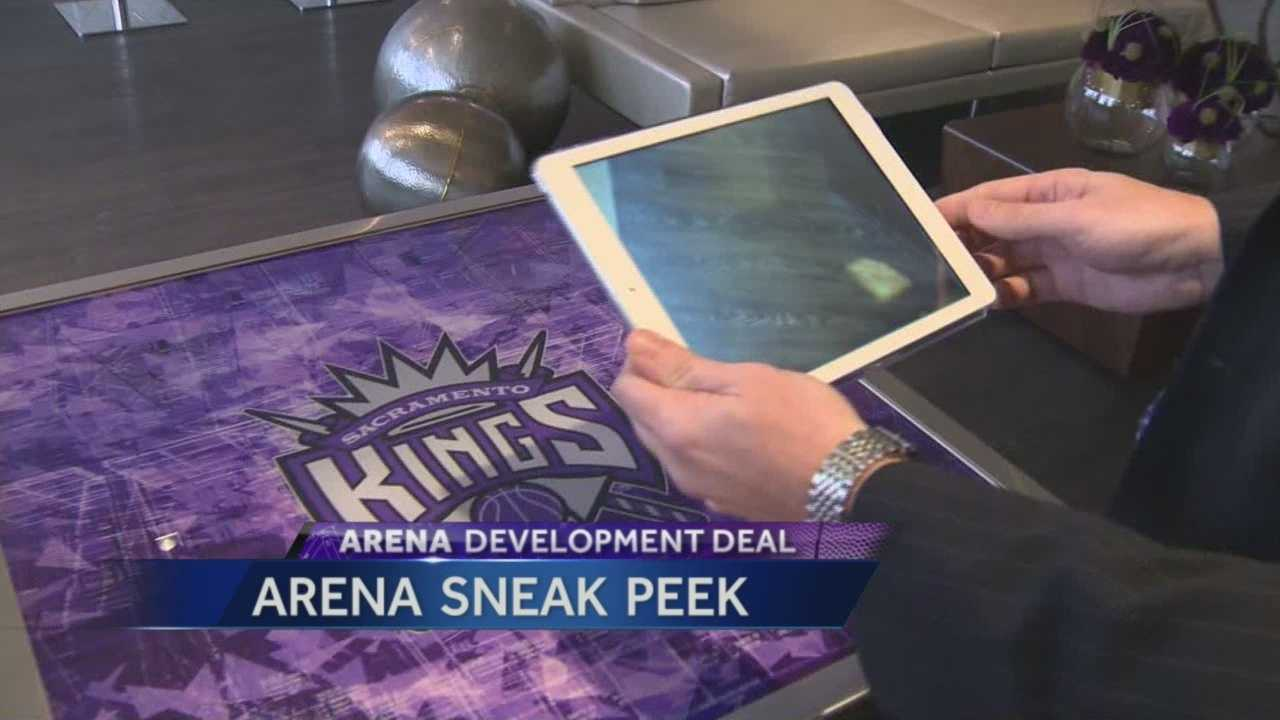 The Sacramento Arena Experience gives people a sneak peek at what the new downtown sports and entertainment complex will look like.