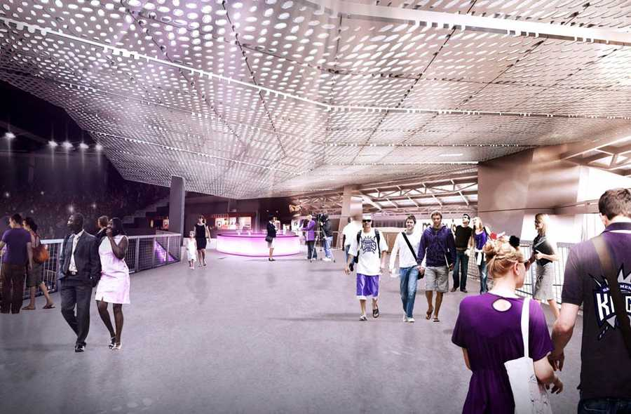 The Sacramento Kings have released the following artist renderings of the sports and entertainment complex being built in downtown Sacramento.