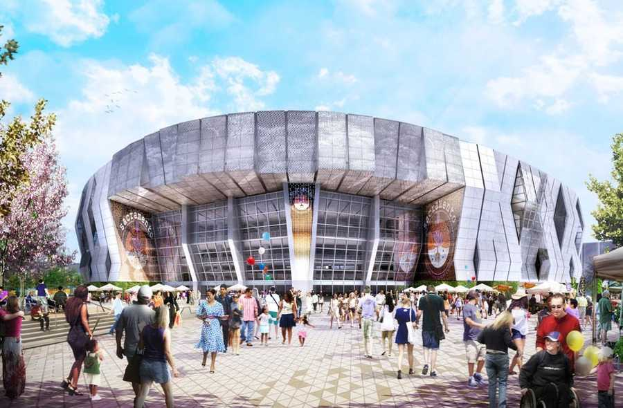 The Sacramento Kings have released the following artist renderings of the downtown sports and entertainment complex.