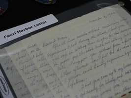 This handwritten letter offering a first-hand account of the attack on Pearl Harbor is among the unclaimed property being held by the California State Controller's Office. Read more about how to claim unclaimed property: http://www.sco.ca.gov/upd_contact.html