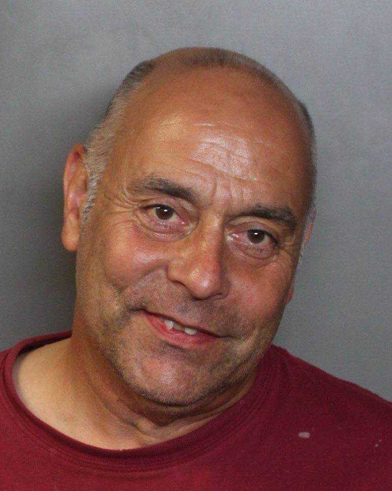 John David Matta, 53, was arrested on suspicion of murdering his mother, officers said.