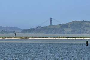 8. Angel Island -- Angel Island offers some of the best views of the San Francisco Bay and the city and has a variety of hiking paths. The island has lots of history, as it served as a war base during World War I and II and was a U.S. Immigration Station from 1910 until 1940.