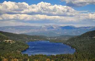 9. Donner Memorial State Park -- Located northwest of Lake Tahoe, the park surrounding Donner Lake is a visual masterpiece lined with granite and other beautiful rocks that have surfaced over thousands of years. Visitors can enjoy hiking, boating, fishing and swimming at the Donner Memorial State Park.