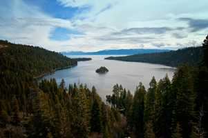 5. Emerald Bay State Park -- The park was designated as an underwater state park in 1994 because so many boats launch from its shores. People come to Emerald Bay State Park in the summer to hike, swim, kayak, scuba dive, boat and tour the Vikingsholm.